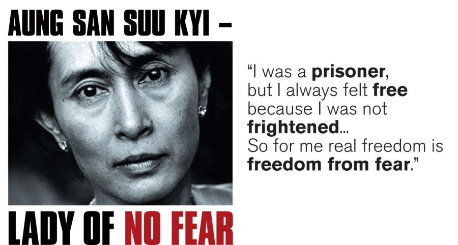 Aung San Suu Kyi | The Five Most Influential Political Leaders